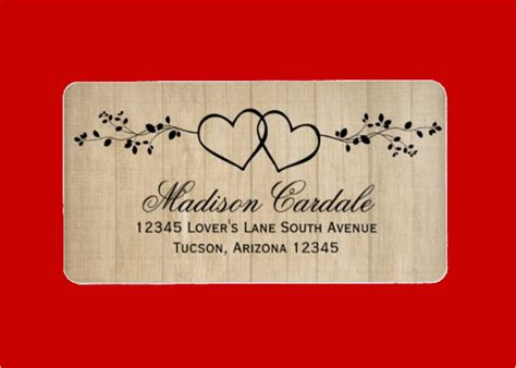wedding address label template authorization letter pdf