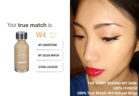 Would You Match Your Lipstick To Your by Get Your Foundation Match With L Oreal True