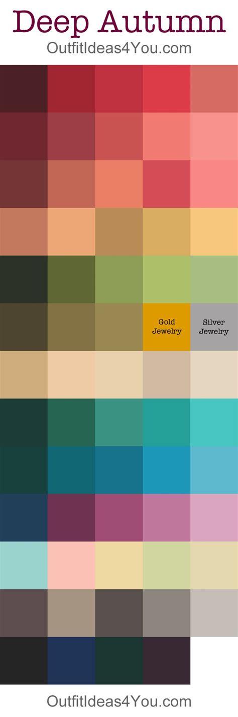 fall color schemes 94 best color palette images on pinterest color