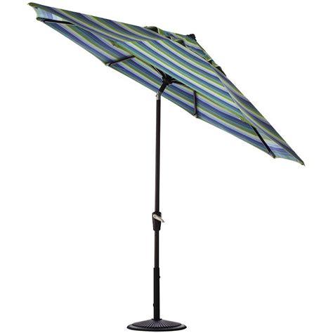 11 Ft Patio Umbrella Hanover 11 Ft Cantilever Patio Umbrella In Cantilever The Home Depot