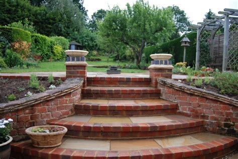Red Brick Steps For The Home Pinterest Brick Steps Garden Step Ideas