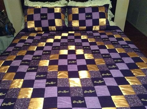 How To Make A Crown Royal Bag Quilt by 25 Unique Crown Royal Quilt Ideas On Crown