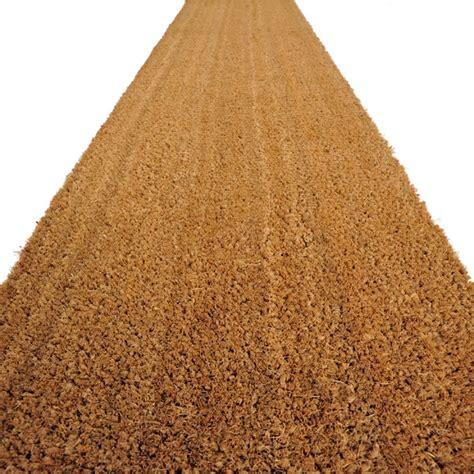 zerbino cocco naturale velcoc zerbini in cocco cocco naturale 20 mm h200cm a