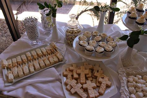 elegant gold  communion cake  dessert table