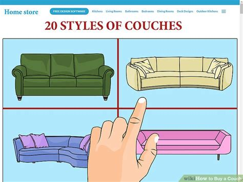 what size sofa should i buy how to buy a couch 11 steps with pictures wikihow