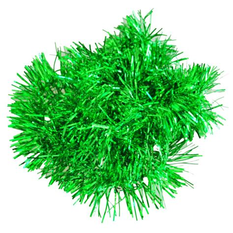 green tinsel garland reviews online shopping green