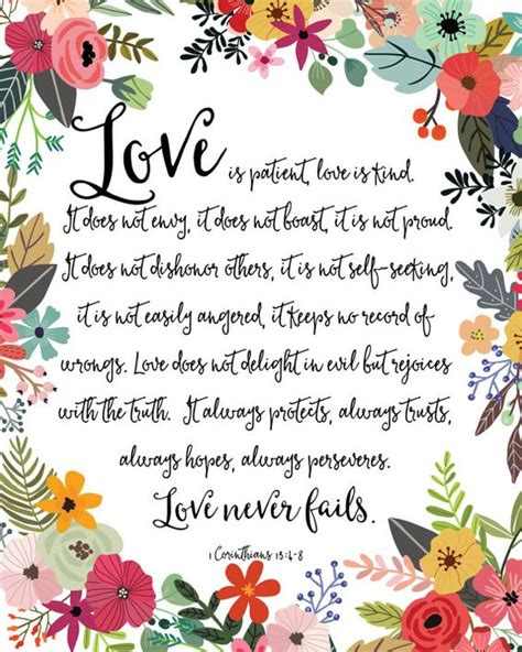 Wedding Bible Verses Is Patient Is by 1000 Ideas About 1 Corinthians 13 On 1st