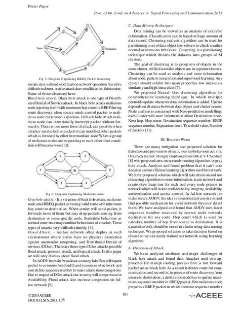 Modified AODV Algorithm using Data Mining Process
