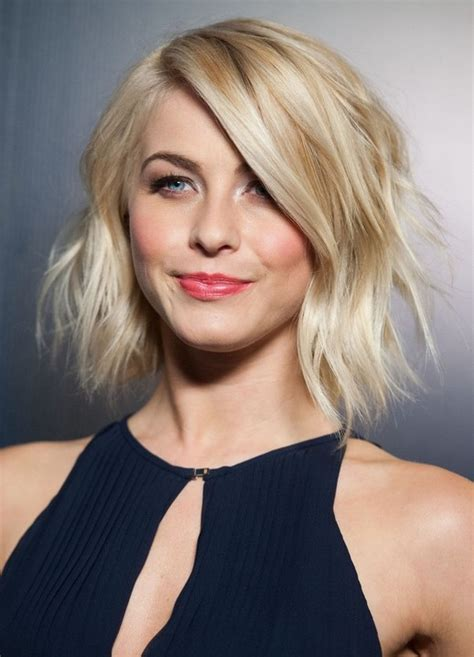 blonde celebrity hairstyles celebrity haircuts for 2014 julianne hough s short blonde