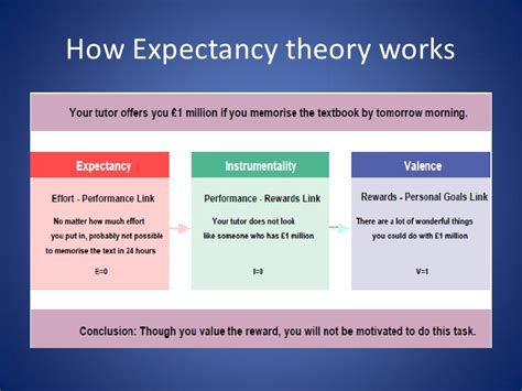 what is the expectancy of a expectancy theory