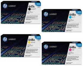 hp color laserjet cp4525 hp color laserjet cp4525 genuine 4 pack toner cartridge combo