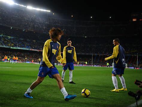 barcelona spanyol shunsuke nakamura in barcelona v espanyol la liga zimbio