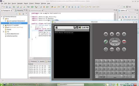 tutorial android development eclipse my blog setting up eclipse and android sdk on opensuse 11 3
