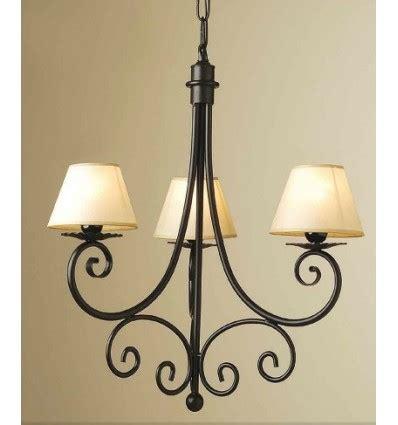 lampara de forja asturias decoracion hierro forjado
