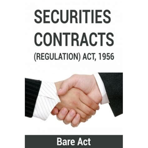 section 20 of the securities exchange act of 1934 securities contracts regulation act 1956 notes by pdf