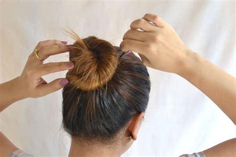 tutorial menyanggul rambut pramugari cara buat sanggul rambut pramugari tutorial bergambar