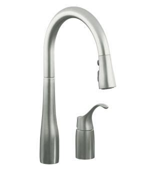 wow kohler single handle kitchen faucet repair 86 for your kohler k 647 vs simplice single handle pulldown kitchen