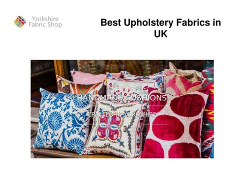Best Upholstery Ppt Best Upholstery Fabrics In Uk Powerpoint
