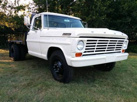 ford f350 truck bed for sale 1967 ford f350 dually flat bed with braden winch lots of