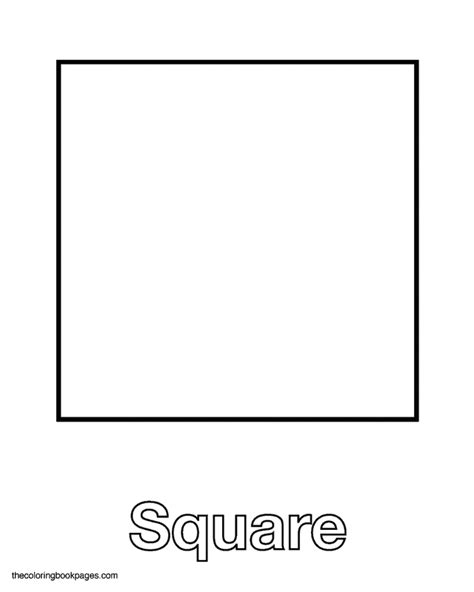 printable square shapes square coloring pages to download and print for free