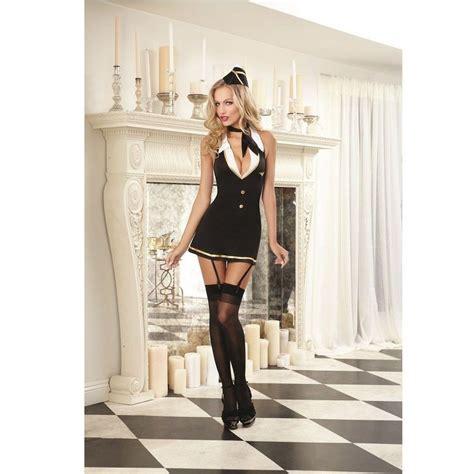 bedroom costumes elegante y sensual disfraz comandante de vuelo ahora