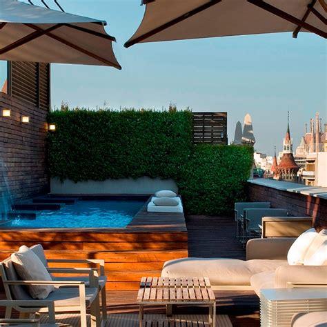 hotel terrazza piscina y terraza hotel 5 estrellas gran lujo