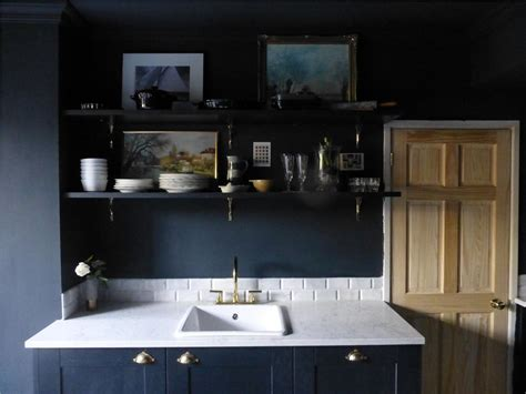 Dark Grey Cabinets Kitchen by Farrow Amp Ball Inspiration