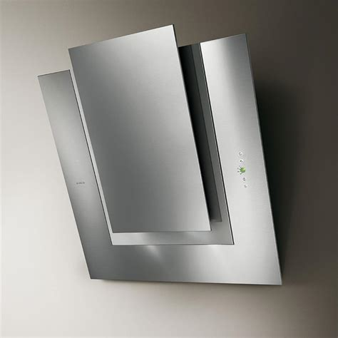 hotte aspirante verticale cuisine elica hotte de cuisine d 233 corative ico inox 80 cm prf0010406a