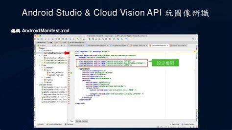 android api 21 android studio cloud vision api 玩圖像辨識