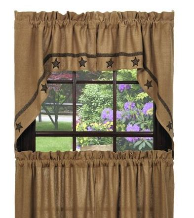 primitive burlap curtains primitive burlap curtains country primitive lewiston