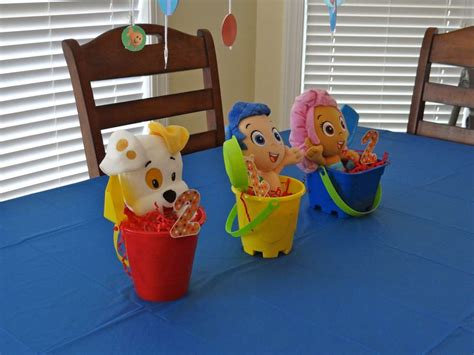 Birthday Party Ideas Photo 2 Of 21 Catch My Party Guppies Centerpiece Ideas