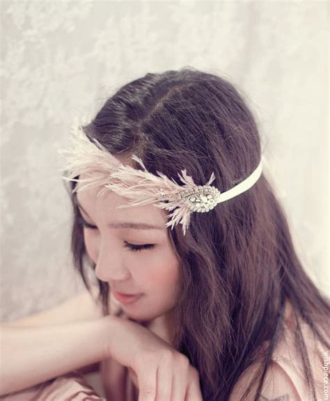 Vintage Bohemian Wedding Hair Accessories by Vintage Boho Feather Hair Accessories Bohemian Wedding