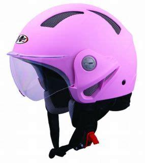 Helm Gix Centro Jet Pink galvania stahlhelm jet helm biker chopper helm chrom