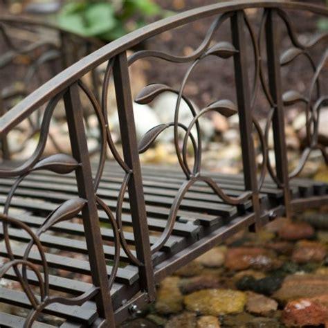 willow creek garden bridge metal willow creek 8 ft metal garden bridge farm garden