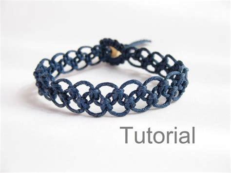 How To Make Macrame Bracelets Step By Step - 20 best ideas about macrame bracelet tutorial on