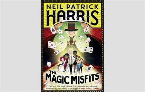 the magic misfits books books actor neil harris s the magic misfits has