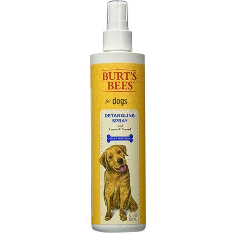 burt s bees for dogs burt s bees detangling spray for dogs 10 fl oz