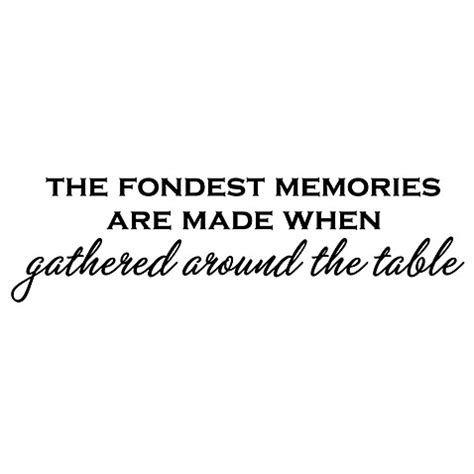 7 Of My Fondest Memories by The Fondest Memories Are Made Vinyl Wall Decal Set Bed