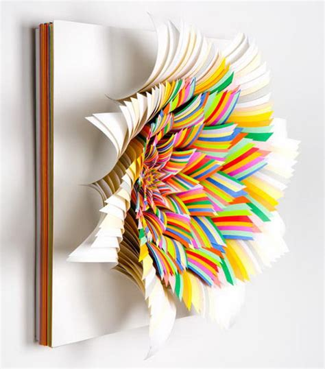 Cool Construction Paper Crafts - paper amazing 3d paper sculpture from jen