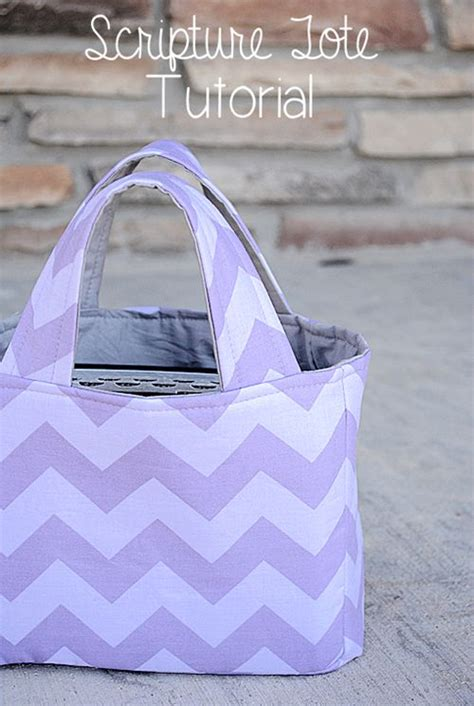 pinterest pattern tote bag scripture tote tutorial by crazy little projects young