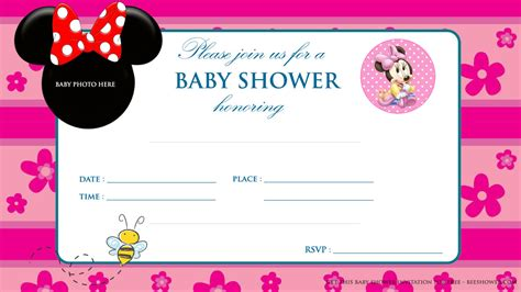 Baby Mickey Mouse Baby Shower Invitations Printable by Free Printable Mickey Mouse Baby Shower Invitation Baby