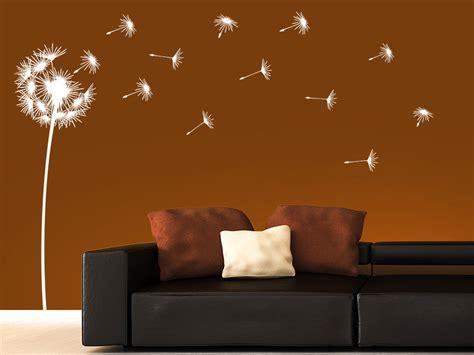 Wohnideen Wohnzimmer Farben 3032 by Wandtattoo Flauschige Pusteblume Mit Schirmchen