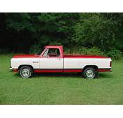 1986 Dodge Ram Mine Looked Like This But Had A Lot Of Rust Around The
