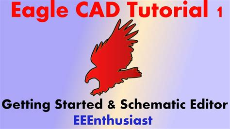 solidworks tutorial getting started eagle cad tutorial part 1 getting started schematic