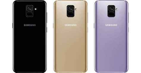 Samsung Galaxy A8 Orchid Gray samsung galaxy a8 2018 จะม ให เล อก 3 ส รวมถ งส orchid