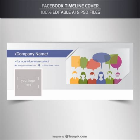 facebook layout free vector 100 editable timeline cover for facebook vector free