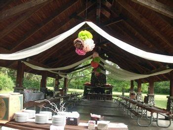 Make a picnic shelter look classy?   Weddings, Style and