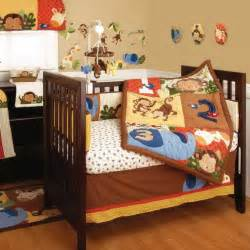 Monkey Baby Crib Sets Monkey Baby Crib Bedding Theme And Design Ideas Family Net Guide To Family Holidays On