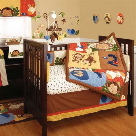 Monkey Crib Bedding Boy Monkey Baby Crib Bedding Theme And Design Ideas Family Net Guide To Family Holidays On