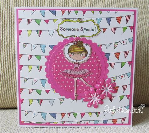Kids Gift Card - a passion for cards whiz kids ballerina diorama card